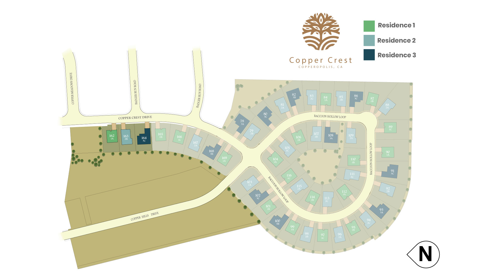 Copperopolis, CA New Homes. Copper Crest.
